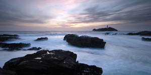 Godrevy lighthouse, Cornwall, Lee robinson travel photography