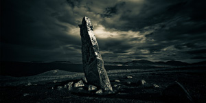 Macleod Stone, Isle of Harris, Outer Hebrides, Lee robinson travel photography